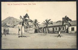 Säo Vicente. *Rua De Coqueiros* Ed. Bazar Central Bonucci & Frusoni. Nueva. Leves Manchas. - Cabo Verde