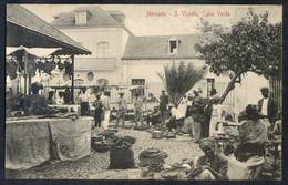Säo Vicente. *Mercado* Ed. Bazar Central Bonucci & Frusoni. Nueva. Leves Manchas. - Cabo Verde