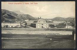 Säo Vicente. *Estaçäo Telegraphica* Ed. Bazar Central Bonucci & Frusoni. Nueva. Leves Manchas. - Cabo Verde