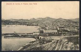 Säo Vicente. *Deposito De Carväo* Ed. Bazar Central Bonucci & Frusoni. Escrita. Leves Manchas. - Cabo Verde