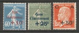 FRANCE - N° 246 A  248 (**) COTE 70,00 EUROS (VOIR PHOTO) - Nuovi
