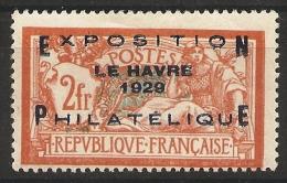FRANCE - N� 257 A (*) COTE 875,00 EUROS (VOIR PHOTO)