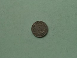 1894 A - 5 Lepta / KM 58 ( Uncleaned Coin / For Grade, Please See Photo ) !! - Grèce