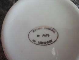 Petit cendrier  porcelaine de Limoges