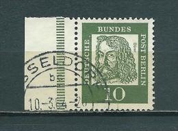 Berlin Nr. 202 Randstück Gestempelt - Gebruikt