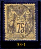Francia-F00053 - 1884/90 - Y&T: N.99 (a Scelta). - 1876-1898 Sage (Type II)