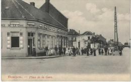 Belgique - Hemiksen - Hemixen - Place De La Gare - Animé - Hemiksem