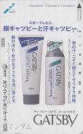 Télécarte Japon 7/11 - 9550 - 105 U - Déodorant Gatsby ** ONE PUNCH ** - Cosmetics Japan Phonecard Telefonkarte - Parfum