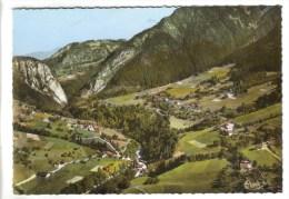 CPSM LE PETIT BORNAND LES GLIERES (Haute Savoie) - 730 M Vue Aérienne Beffay Et Termine - Frankrijk