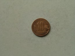 1948 - 10 Centavos / KM 41 ( Uncleaned Coin / For Grade, Please See Photo ) !! - Argentine