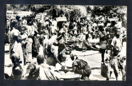 Kinshasa. *Leopoldoville. Scène Du Marché Indigène* Ed. Photo Tropica Nº 35. Escrita. Señales De Mal Uso. - Kinshasa - Leopoldville