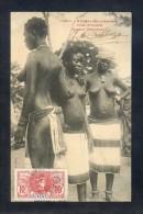Afrique Occidentale. Côte D´Ivoire. *Jeunes Danseuses* Circulada1910. - Costa De Marfil
