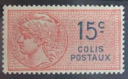 France Colis Postal N° 33 Luxe ** - Colis Postaux