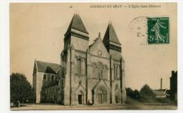 CP , 76 , GOURNAY-en-BRAY , L'Eglise Saint-Hildevert - Gournay-en-Bray