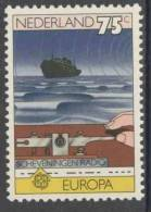 Nederland Netherlands Pays Bas 1979 Mi 1141 ** Radio Scheveningen / Morse Key / Morsetaste / Morse Clés - Europa Cept - Transportmiddelen