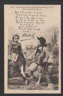 DF / BRETAGNE / LES CHANSONS DE BOTREL ( NÉ À DINAN CÔTES D' ARMOR EN 1868 ) ILLUSTRÉES PAR E.H. / PAR LE PETIT DOIGT - Bretagne