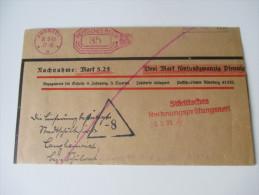 Drucksache / Nachnahme / Remboursement. Freistempel 30.3.1933 Farbe: Lila (?!) Städtisches Rechnungsprüfungsamt - Briefe U. Dokumente