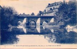 MONTFAUCON-sur-MOINE - Le Pont Sur La Moine - Montfaucon