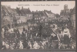 59--MONT-CASSEL--Carnaval Reuze (Papa Et Maman) Géant--belle Animation - Other Municipalities