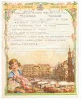 Télégramme - Telegram Royaume De Belgique - Engagement