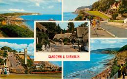Royaume-Uni - Angleterre - Isle Of Wight - Sandown & Shanklin - Multiview - Multivues - Bon état Général - Angleterre