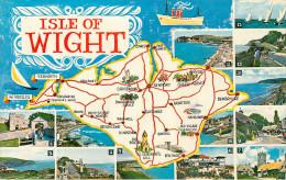 Royaume-Uni - Angleterre - Isle Of Wight - Carte Géographique - Multiview - Multivues - Bon état - Angleterre