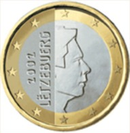 Luxemburg 2013     1 Euro    UNC Uit De Rol  UNC Du Rouleaux  !! - Luxembourg