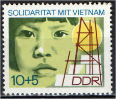 DDR - 1973 - SOLIDARIETA' CON IL VIETNAM - NUOVO MNH - Nuovi