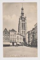 BELGIQUE - COURTRAI - LA TOUR SAINT MARTIN  - 2 Scans - - Belgique