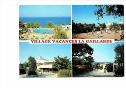 SAINT AYGULF - VILLAGE DE VACANCES LA GAILLARDE ACCE PCUK - Volley-ball Cabine Téléphone 1990 - Volleyball