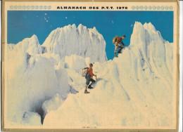 CALENDRIER - ALMANACH DES POSTES ET DES TELEGRAPHES - ANNEE 1970 - La MARNE - Calendriers