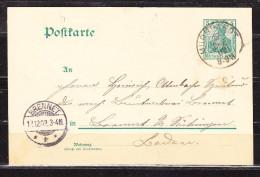 P 64 X Germania, Murrhardt Nach Brennet 1902 (59275) - Germania