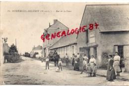 49 - MONTREUIL BELFROY - RUE DE LA GARE - Andere Gemeenten