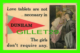 DUNHAM, QUÉBEC -  COUPLES, LOVE TABLETS ARE NOT NECESSARY IN DUNHAM THE GIRLS DON'T REQUIRE ANY - - Quebec