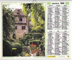 CALENDRIER - ALMANACH DES POSTES ET DES TELEGRAPHES - ANNEE 1990- REGION PARISIENNE - Calendars