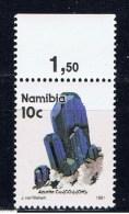 NAM+ Namibia 1991 Mi 686 Mnh Azurit - Namibia (1990- ...)