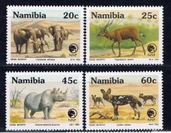 NAM+ Namibia 1993 Mi 735-38 Mnh NNF - Namibia (1990- ...)