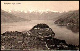 Lago Di Como - Aerial View Bellagio - Como