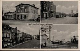 ! Alte Ansichtskarte Gruß Aus Schönsee In Westpreußen, Mit Molkerei - Poland