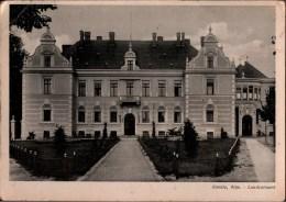 ! Alte Ansichtskarte Aus Konitz In Westpreußen, Landratsamt, 1942 - Polonia