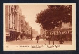 Casablanca *La Rue De Marseille* Ed. Mars Nº 23. Nueva. - Casablanca