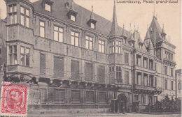 CPA Luxembourg - Palais Grand-ducal - 1912 (7786) - Luxemburg - Stadt