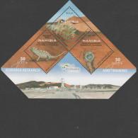 O) 2012 NAMIBIA, AMPHIBIANS, MICROHYLIDAE, SOUVENIR MNH - Namibia (1990- ...)