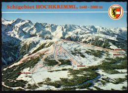 Panoramakarte Österreich - Krimml, Hochkrimml, Gerlospatte Und Umgebung - Gelaufen - Landkarten