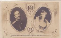Zur Erinnerung An Die Silberhochzeit Des Deutschen Kaiserpaares Am 27. Februar 1906 - Case Reali