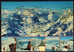 Panoramakarte Österreich - Leogang Und Umgebung - Gelaufen - Landkarten