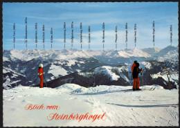 Panoramakarte Österreich - Blick Vom Steinbergkogel Auf Hohe Tauern - Gelaufen - Landkarten