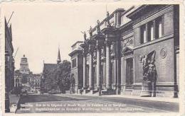 Belgium Brussels Rue De La Regence Et Musee Royal De Peinture Et De Sculpture - Museums