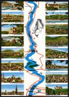 Landkarte Österreich - Donaustrom Von Ybbs Bis Wien - Landkarten