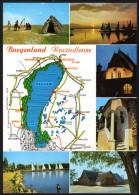 Landkarte Österreich - Burgenland Neusiedlersee - Landkarten